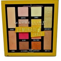 Maybelline Lemonade Craze Eyeshadow Palette Shimmer Matte Great Colors F... - $12.89