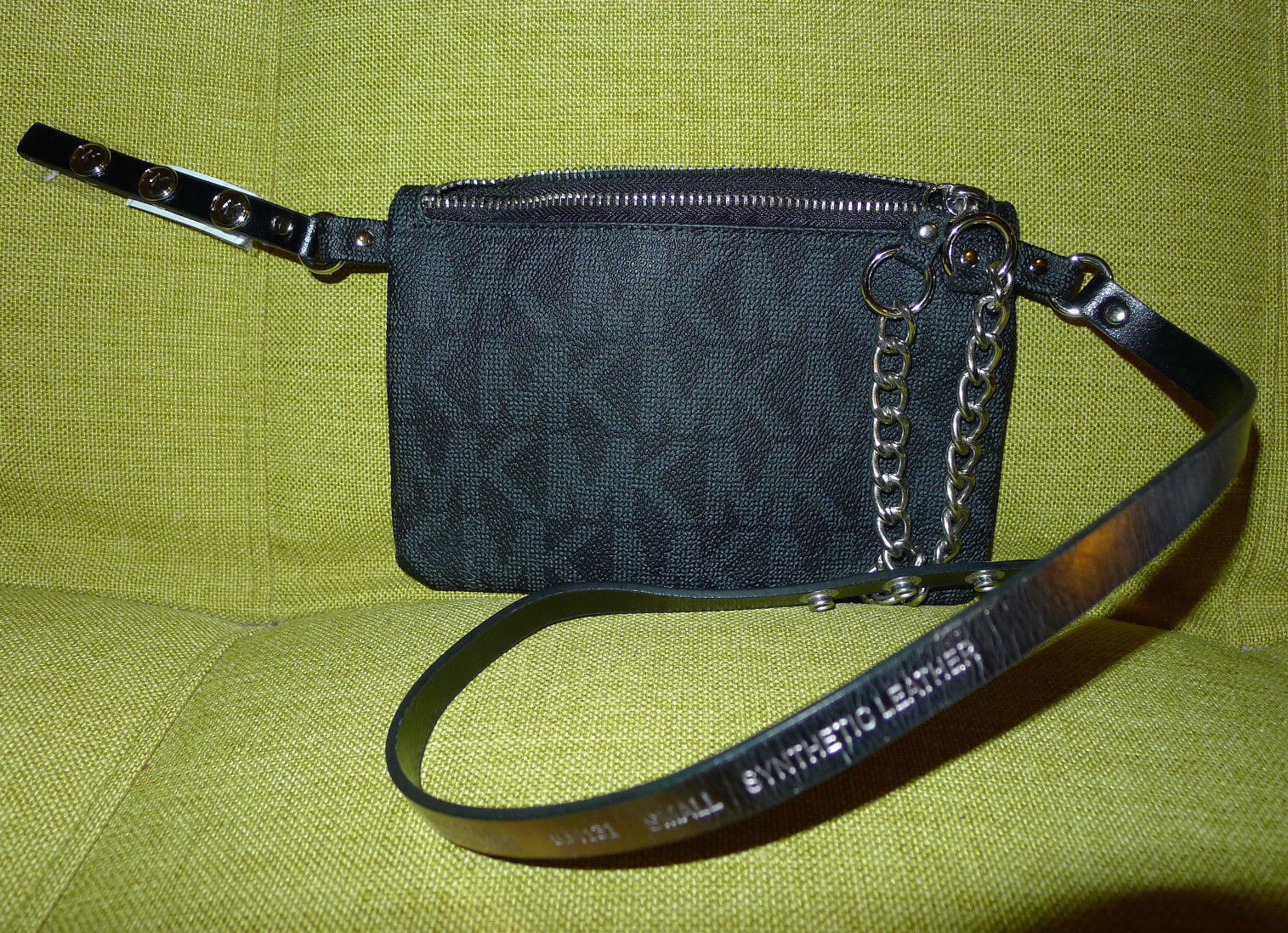 707c836fca33a1 Michael Kors Signature Logo Fanny Pack Chain and 50 similar items. 57