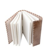 1pc Retro Notebook Journal Diary Sketchbook Leather Cover Thick Blank Pages - $39.59