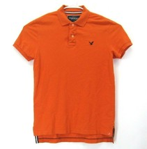 American Eagle Outfiters Men's Large Vintage Fit Short Sleeve Polo Shirt... - $287,58 MXN