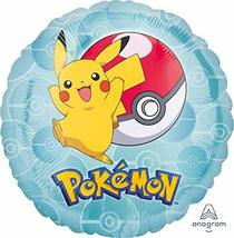 17inch Pokemon Pikachu Pokeball Foil Balloon - $2.56