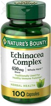 Echinacea Complex by Nature's Bounty, Herbal Supplement, Supports immune Health, - $10.88