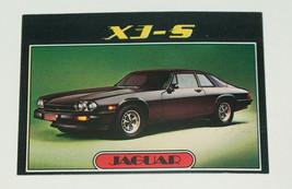 1976 topps cars 1977 jaguar xj-s sports car card #68 vg-ex condition - $12.87
