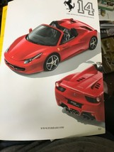 THE OFFICIAL FERRARI MAGAZINE, ISSUE 14 MAGAZINE 2011  458 SPIDER F1 - $69.29