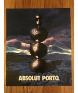 Absolut Porto Original Magazine Ad - $3.99