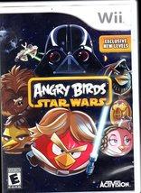 Angry Birds Star Wars (Nintendo Wii, 2013) No Manuel image 1