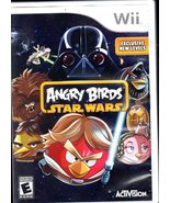 Angry Birds Star Wars (Nintendo Wii, 2013) No Manuel - $9.50