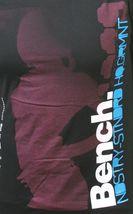 Bench Hombre Negro Caliente Crowd Industria Estándar Alta Calidad Camiseta Nwt image 4