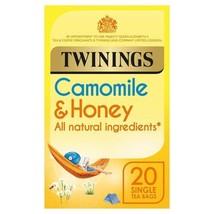 Twinings Camomile & Honey Tea 20 per pack - $5.39