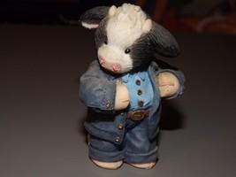 Enesco Mary Moo Moo's Udderly Cool John Deere Figurine #674516 - $12.34