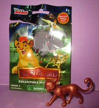 Disney Lion Guard PVC Figure Series 3 Metallic Bronze Rare Copper Fuli Toy! - $16.00