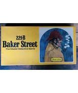221B BAKER STREET Board Game, 1977 by Hansen - Long Box version - COMPLE... - $80.00
