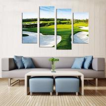 Framed 4 Piece Golf Pot Picture Canvas Painting Wall Art Home Decor - $104.39 CAD+