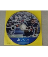 EUC Madden 17 Sony Playstation 4 PS4 Game Disc Only Free Ship - $13.85