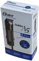 Oster GOLDEN A5 Professional 220v Clipper 1133963 Two Speed Cryogen-X 78... - $164.95