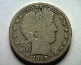 1900-S Barber Half Dollar About Good+ Ag+ Nice Original Coin Bobs Coins - $21.00