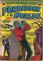 Forbidden Worlds Comic Book #4, ACG 1952 VERY GOOD- - $82.16
