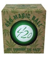 420 Magic Ball Magic Eightball 8 Ball Green Novelty Gift 8Ball Party Gam... - $24.95