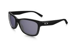 Oakley Sunglasses Forehand OO9179-01 Polished Black Frames Gray Lens 57MM - $98.43