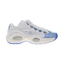 "Reebok Question Low ""Fluid Blue"" Patent Big Kids' Shoes White-Blue-Ice F... - $55.20"