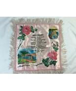 Souvenir Sweetheart  Pillow cover,  Honolulu Hawaii  Sweetheart pillow - $23.36