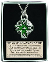 Cathedral Art Celtic Memorial Locket on 24-Inch Chain - $21.98