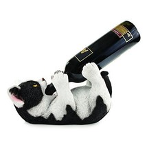 Klutzy Kitty Bottle Holder by Blush Wine Racks Holders Bar Tools Accesso... - $39.33