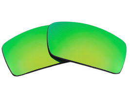 Replacement Lenses for Oakley Gascan Sunglasses Anti-Scratch Green Mirror - $9.89
