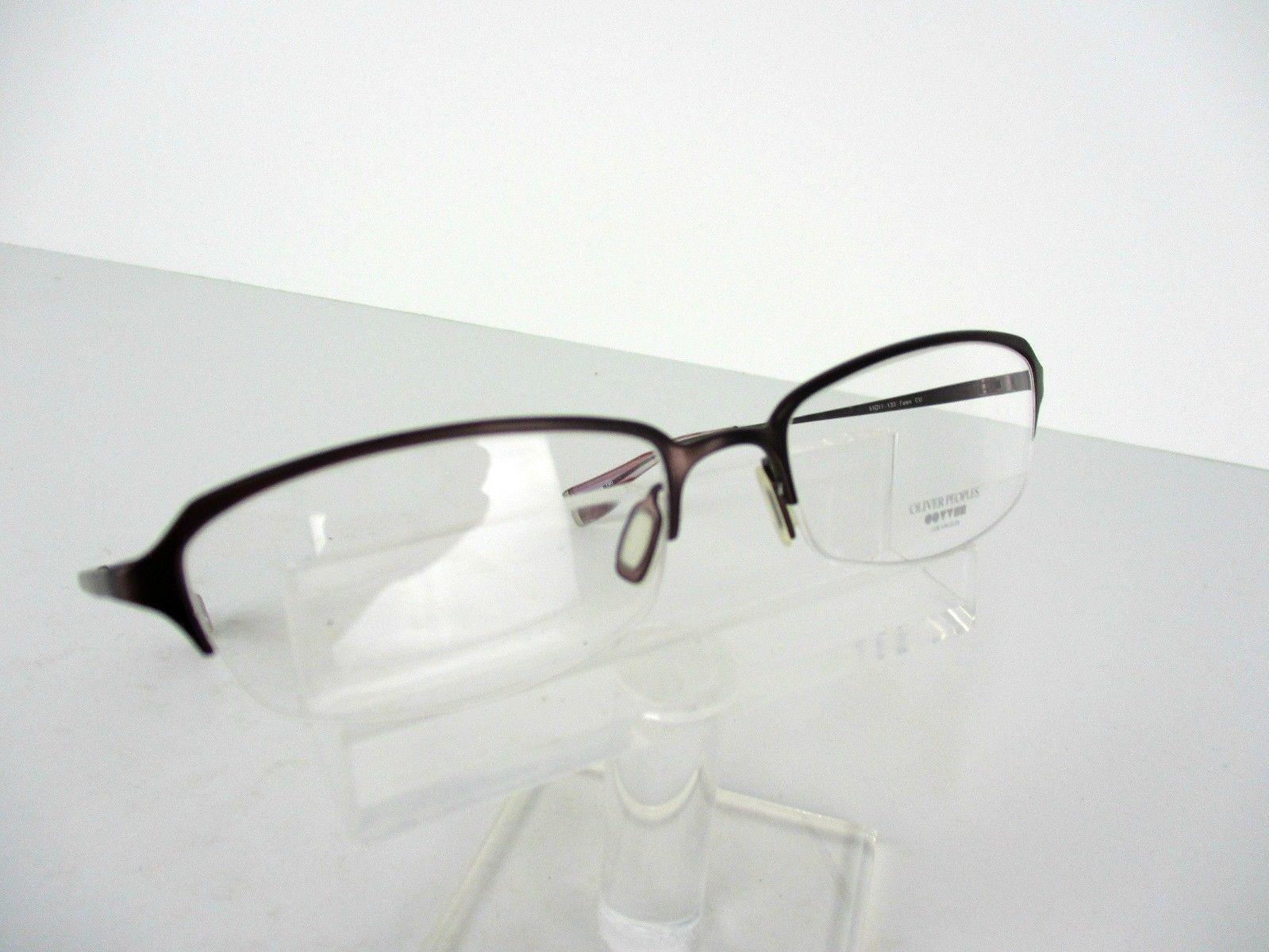 f8c683938d S l1600. S l1600. Previous. Oliver Peoples Fawn (CU) Purple TITANIUM 51 x  17 133 mm Eyeglass Frames
