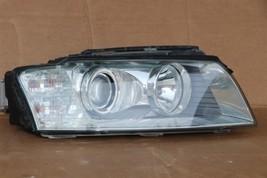 04-05 Audi A8 Quattro HID Xenon AFS Adaptive Headlight Pssngr Right RH -POLISHED image 2