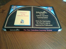 Divinity The New Catholic Catechism Learning System Bible Study Board Game - $18.69