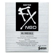 SANTEN Sante FX NEO Medicated Cooling Eye Drops 12ml Vision Care From Japan - $4.19