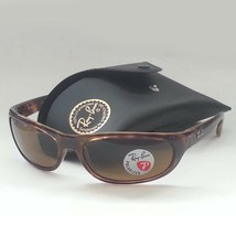 Ray-Ban Men Polarized Sunglasses RB 4033 Tortoise Brown Sport Made in ITALY - $121.25