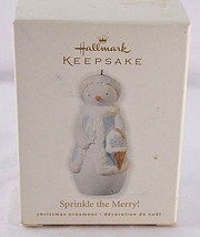 Hallmark Keepsake Ornament  Sprinkle the Merry! 2010 - $9.99