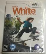 WII SHAUN WHITE SKATEBOARDING BRAND NEW IN SEALED PACKAGE - $6.75