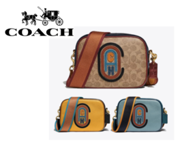 Coach Color Block Camera Bag with Coach Patch 79257 / 79278 - $159.00
