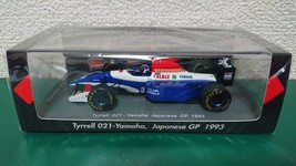 1:43 Suzuka Legend Spark Tyrrell 021 Yamaha Japan GP 1993 Ukyo Katayama - $363.13