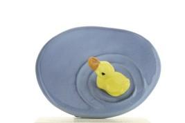 Hagen Renaker Miniature Bird Duck Pond Baby Swimming Ceramic Figurine