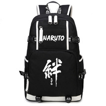 Naruto Theme Fighting Anime Series Backpack Schoolbag Daypack Bookbag Ban - $36.99