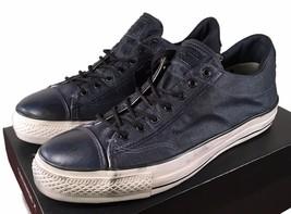 Converse John Varvatos Vintage Chuck Taylor Slip on Sneaker INK BLUE 150... - $59.95
