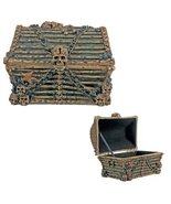Davy Jones Chest  Collectible Pirate Decoration Skeleton Container - $27.42