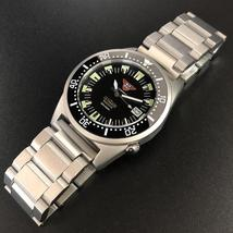 STEELDIVE Singapore Shark 200m Dive Watch Sapphire Crystal NH35 Automatic Mechan - $272.80+