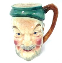 Toby Mug Cup made in Occupied Japan Character Old Man Face Ceramic Vintage - $37.99