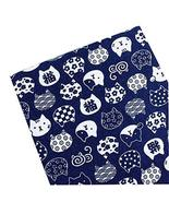 DRAGON SONIC Japanese Style DIY Fabric Cloth Material Blue (50145cm) - $14.20