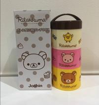 Rilakkuma 3 Stage Lunch Bento Box kids San-x Joshin - $15.84
