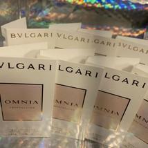 5x Bvlgari Bulgari OMNIA Perfume Vial Samples 1.5mL (7.5mL Total)