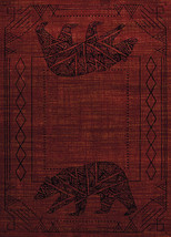 United Weavers Affinity Bear Cave Red Runner Rug  1'11'' X 7' 2'' - $49.00