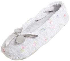 Isotoner Women's Embroidered Terry Ballerina Slipper - $21.49+