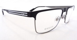 GUCCI Frame Glasses GG2205 STAINLESS STEEL Black/Ruth/Black MADE IN ITAL... - $199.95