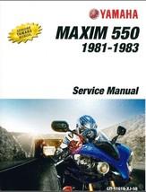 1981-1983 Yamaha XJ550 Maxim / Seca 550 Service Repair Manual on a CD - $12.99
